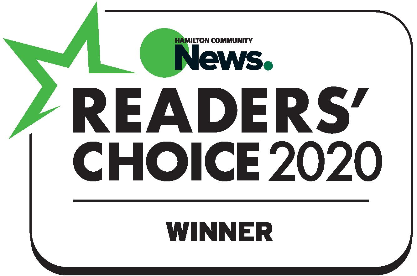 Hamilton Readers Choice Award One Foot Clinic